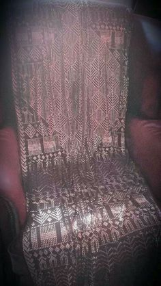 Antique Assuit shawl, silver on black. #Vaudeville_Gypsy on Etsy