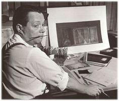 Jo Mielziner, 1901 - 1976. 74; theatrical scenic, lighting designer.