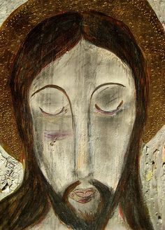 Jésucristo, retablo of Jesus Christ by Tesuque artist Juanito Jimenez, photo © 2008 by ybonesy. All rights reserved. Where to begin? There are so many authoritative sources on the origins of the re…