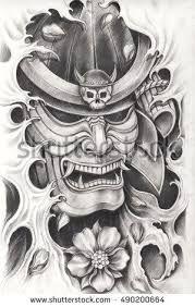 Resultado de imagem para desenhos de samurai
