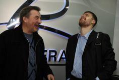 Bryzgalov with Tretiak.
