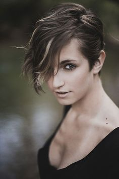 Two Color Pixie Cut
