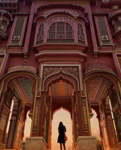 Jawahar circle Gate jaipur❤