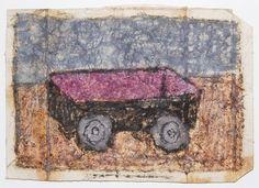 James Castle, 'Untitled (Wagon)', nd, Fleisher/Ollman   Artsy