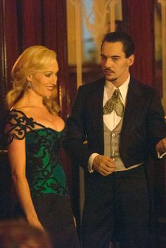 Jonathan Rhys Meyers and Victoria Smurfit in Episode Six of Dracula 'Of Monsters and Men' - sky.com/dracula