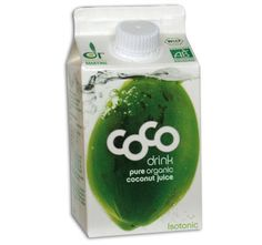 Kokos Drink aus Bio Kokosnüssen