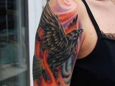 150 Best Crow and Raven Tattoos and Meanings awesome