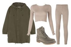 """""""Untitled #181"""" by amanda-lanerva ❤ liked on Polyvore featuring Steffen Schraut, Yves Saint Laurent and Timberland"""