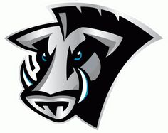 Florida Tuskers Primary Logo (2009) - A warthog with two tusks