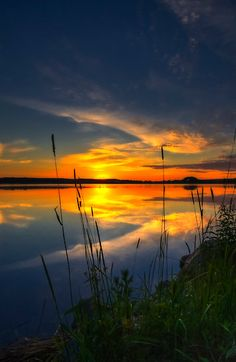 In the morning at 4.09 by Veikko Suikkanen    Yesterday morning, mid-summer, the longest day.  Archipelago sea Salo, southern Finland.