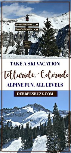 Take a virtual ski vacation to Telluride, Colorado, for world class alpine experiences surrounded by stunning mountain scenery Telluride Colorado, Colorado Winter, Skiing Colorado, Colorado Ski Resorts, Travel Blog, Solo Travel, Travel Usa, Travel Tips, Travel Destinations