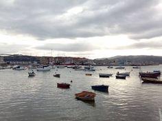 19/01/16 Así luce hoy nuestro puerto pesquero entre matices y reflejos. ¡Santoña te espera!