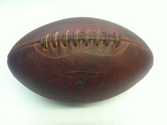 Brown Bison Leather Football, so Dad can tell you how he scored the winning touchdown in high school.