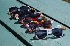 How To Make Your Own Kick-Ass Pair of Embellished Sunglasses