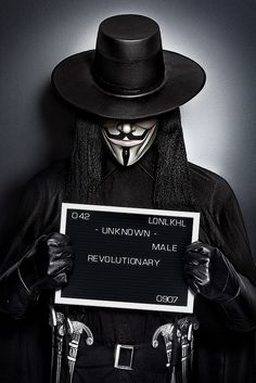 V - Revolutionary V For Vendetta Quotes, Hacker Art, Ideas Are Bulletproof, Hacker Wallpaper, Guy Fawkes, Lost In Translation, Dark Photography, Fashion Photography, Bettie Page