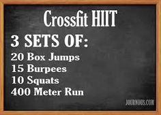 Workouts : Illustration Description Crossfit HIIT With Box Jumps -Read More – Crossfit At Home, Crossfit Box, Box Jump Workout, Workout Board, Track Workout, Workout Routines, Workout Ideas, Fitness Tips, Fitness Motivation