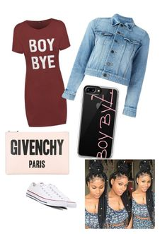 """school cookout"" by lilshawtyt on Polyvore featuring beauty, Converse, Yves Saint Laurent, Casetify and Givenchy"
