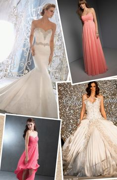 My wedding dresses and braidesmaids dress to #weddings