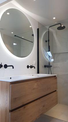 Bathroom Design Luxury, Modern Bathroom, Small Bathroom, Bad Inspiration, Bathroom Design Inspiration, Bathroom Renos, Bathroom Furniture, Home Design, Home Interior Design