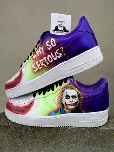 - 1 pair of authentic Nike Air Force 1 - 2 portraits - permanent paint - no patches, vinyl or bs - many compliments from others Air Max 1, Nike Air Max, Nike Shoes Air Force, Custom Painted Shoes, Custom Shoes, Nike Custom, Swag Shoes, Art Shoes, Dallas Cowboys Shoes