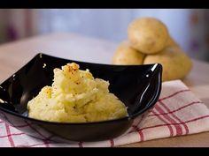#Recette : Écrasée de pommes de terre à l'huile d'olive et à l'ail #puree