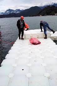 Risultati immagini per christo lago iseo
