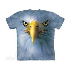 Eagle Face Felnőtt Amerikai The Mountain Póló