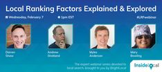 Local Ranking Factors Explained