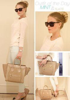 celine bags prices - celine beige cloth clutch bag
