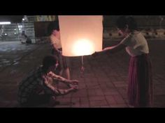 How NOT to light a Sky Lantern in Chiang Mai!