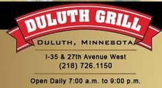 If you're ever in Duluth, check it out. All local and organic ingredients....delicious!