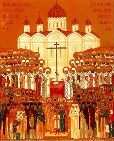 Средник иконы собора  новомучеников Российских
