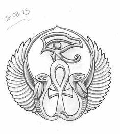 """Képtalálat a következőre: """"anubis tattoo designs"""" Ankh Tattoo, Horus Tattoo, Anubis Tattoo, Egyptian Symbols, Egyptian Art, Egyptian Anubis, Egyptian Mythology, Tattoo Sketches, Tattoo Drawings"""