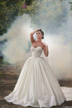 Sadek Majed Haute Couture | Dreamy 2015 | Wedding Dress, Glam