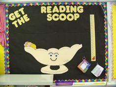 Classroom reading goal bulletin board