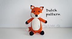 Vos (haakpatroon) – Dutch crochet pattern