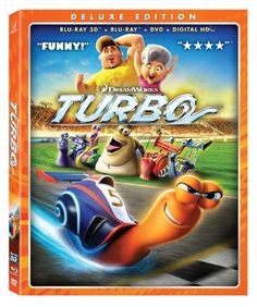 FOR SALE: Turbo (Blu-ray 3D Combo Pack)