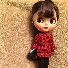 Blythe - crochet - Handmade - ganchillo - hecho a mano