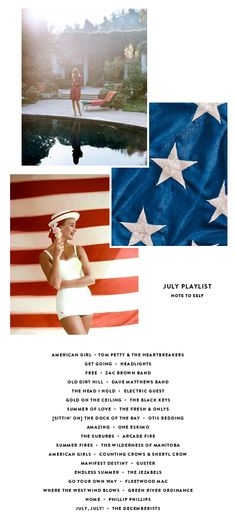 A 4th of July Playlist.