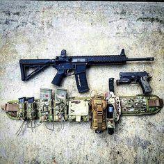 Nice Battle belt setup | Gear. | Tactical gear, Battle ...