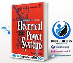 Electrical Power Systems Design And Analysis. Languguage : English. Size : 25.7 Mb. Pages : 799. Format : Pdf. Year : 1995. Edition : 1. The Author : Mohamed E. El Hawary