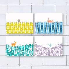 ABODE - SET OF 4 PLACEMATS