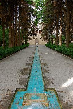 Fin gardens in Kashan
