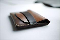 slim cordovan wallet