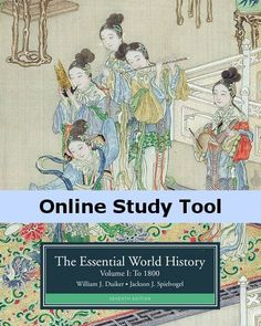 CourseMate (with InfoTrac) for Duiker/Spielvogel's The Essential World History, Volume I: To 1800, 7th Edition