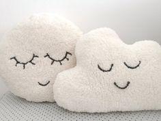 Fluffy Cloud Pillow Nursery Decor Stuffed Toy Soft by EmmasStory