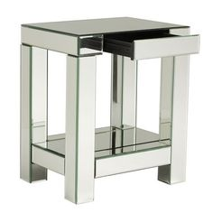 love mirrored tables, but I can never afford them. So expensive always!