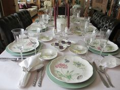 The Welcomed Guest: Butterfly Meadow Tablescape