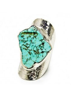 turquoise silver ring | kei jewelry