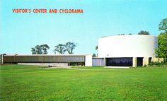 Gettysburg Cyclorama Center / Richard Neutra